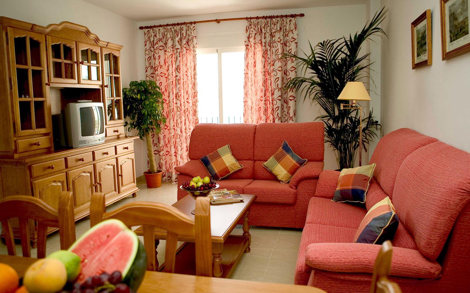Habitación Apartamentos Miguel Ángel